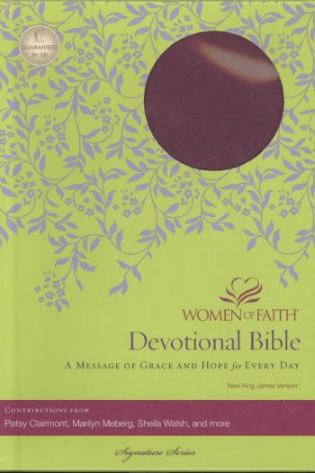 NKJ WOMEN OF FAITH DEV BIBLE PLUM