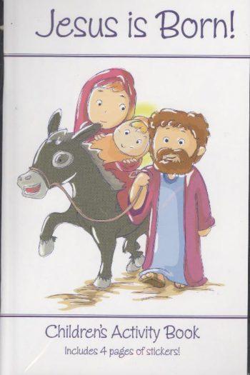 CHRISTMAS ACTIVITY BOOK : JESUS IS BORN