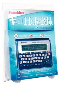 AUDIO BIBLE NIV FRANKLIN BOOKMAN