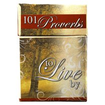 BOX OF BLESSINGS:101 PROVERBS TO LIVE BY