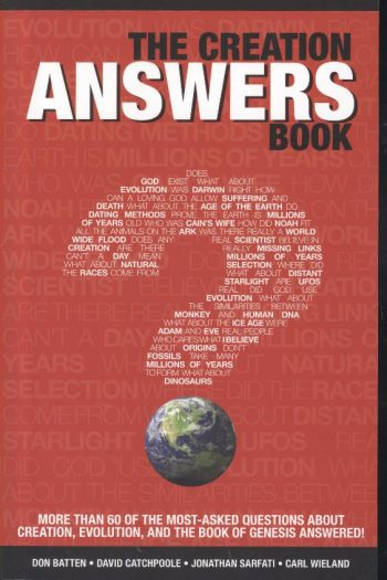 CREATION ANSWERS BOOK