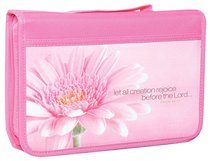 BIBLE COVER REJOICE PINK