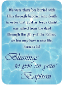 BLESSINGS TO YOU ON YOUR BAPTISM