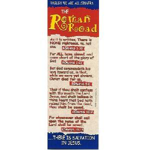image relating to Romans Road Kjv Printable named BOOKMARK PACK 10: ROMAN Highway