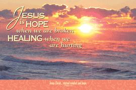 POSTER: JESUS IS HOPE