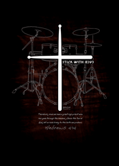 POSTER : STICK WITH JESUS