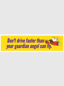CAR STICKER : GUARDIAN ANGEL