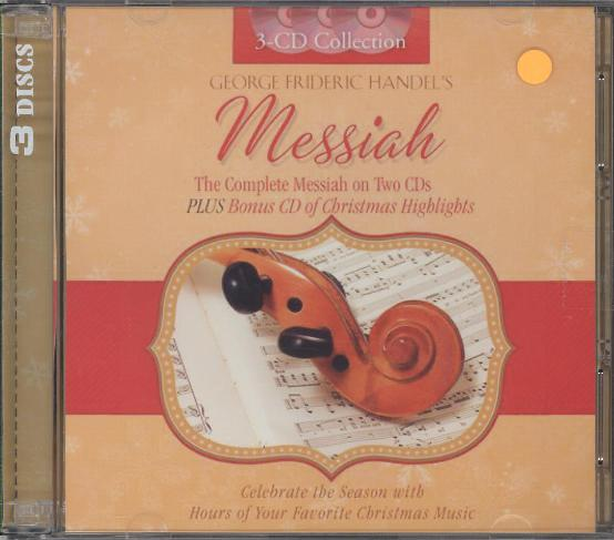 GEORGE FREDERIC HANDEL'S MESSIAH
