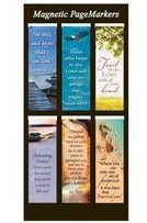MAGNETIC BOOKMARK SET OF 6: BE STILL