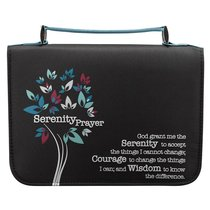 BIBLE COVER  SERENITY PRAYER