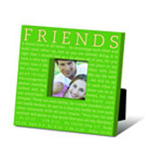 MESSAGE PHOTO FRAME : FRIENDS