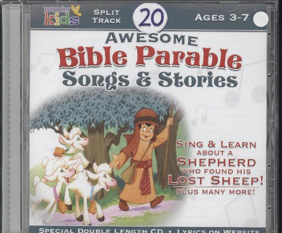 20 AWESOME BIBLE PARABLE SONGS & STOR