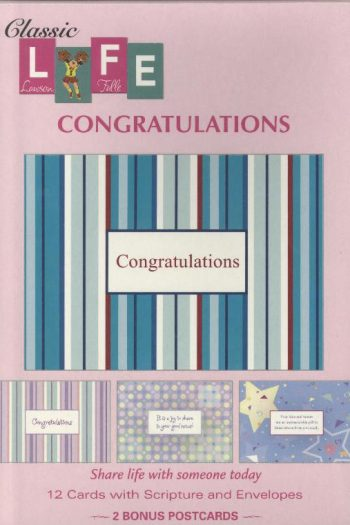 BOXED  CARDS:CONGRATULATIONS