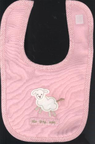 BABY BIB : PINKTHE LORD IS MY SHEPHERD