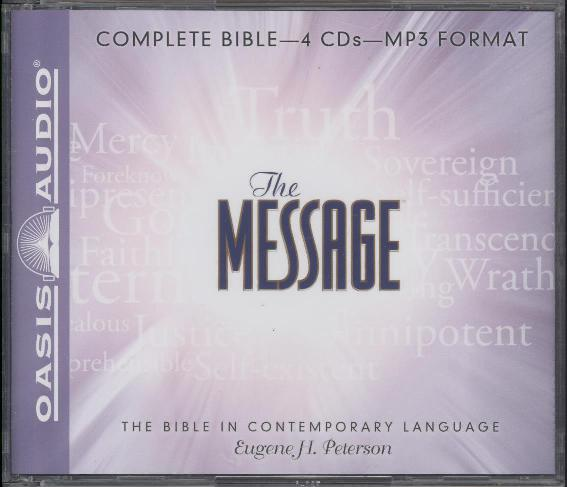 MESSAGE BIBLE MP3