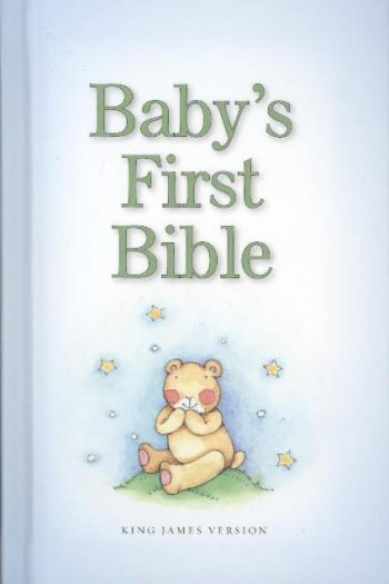 KJV BABY'S FIRST BIBLE BLUE