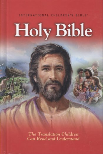 ICB BIG RED HOLY BIBLE H/C