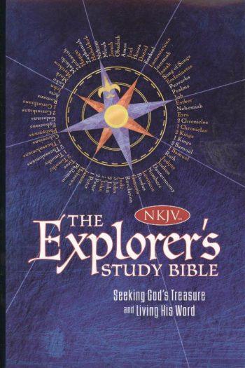 NKJV CHILDREN EXPLORERS STUDY BLUE