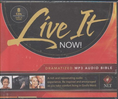 NLT LIVE IT NOW MP3 AUDIO BIBLE-0