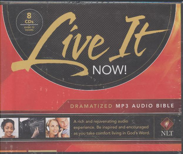 NLT LIVE IT NOW  MP3 AUDIO BIBLE