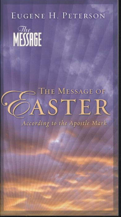 MESSAGE OF EASTER ACCORDING TO THE APOST-0