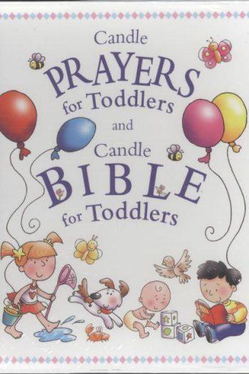 CANDLE BIBLE & PRAYERS GIFT SET