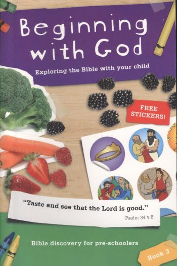 BEGINNING WITH GOD: BK 3 PRE-SCHOOLERS