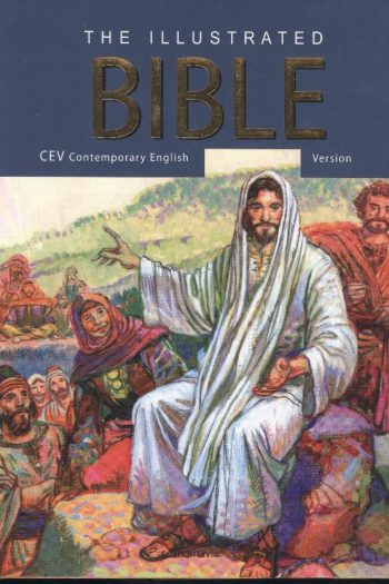 THE ILLUSTRATED CHILDRENS BIBLE CEV