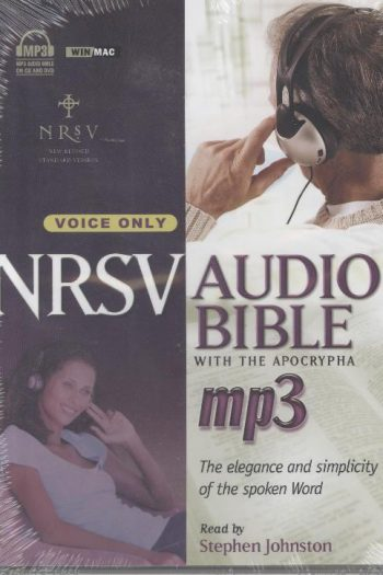 NRSV AUDIO BIBLE MP3 VOICE ONLY