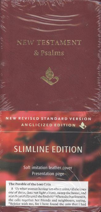 NRSV SLIMLINE NT & PSALMS LEATHERLIKE