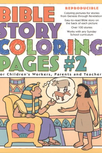 BIBLE STORY COLOURING PAGES BOOK 2