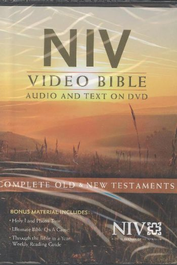 NIV VIDEO BIBLE DRAMATIZED MULTI-VOICE