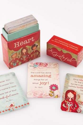 BOXES OF BLESSINGS : A GRATEFUL HEART