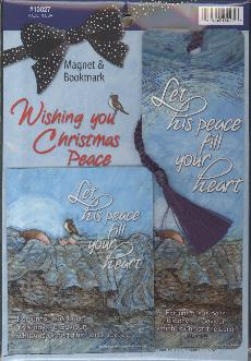 BOOKMARK/MAGNET: CHRISTMAS PEACE