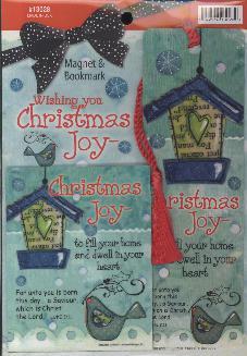 BOOKMARK/MAGNET: CHRISTMAS JOY