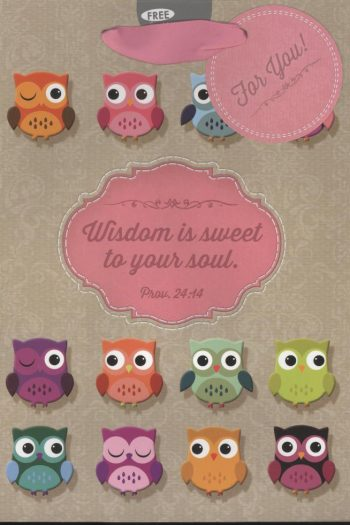 GIFT BAG : WISDOM IS SWEET TO YOUR SOUL