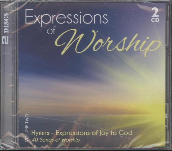 EXPRESSIONS OF WORSHIP VOL 2 : HYMNS 2CD