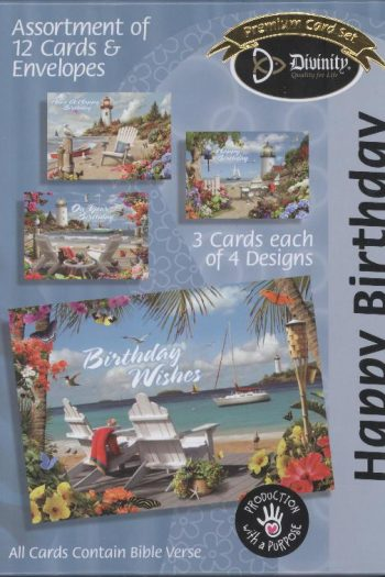 BOXED CARD : HAPPY BIRTHDAY