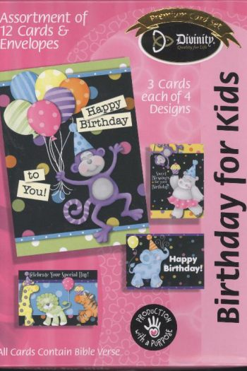 BOXED CARD : BIRTHDAY FOR KIDS