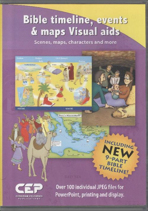 BIBLE TIMELINE, EVENTS & MAPS VISUAL AID
