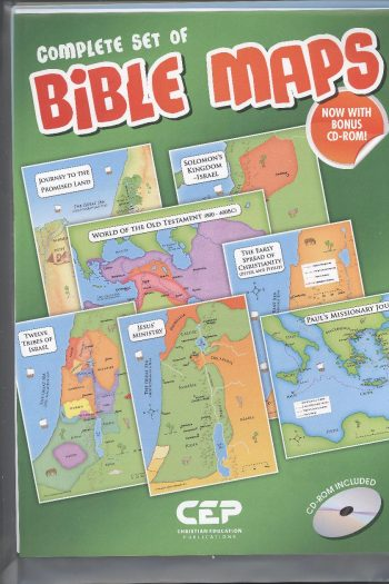 BIBLE MAPS POSTER PACK