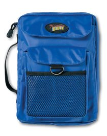BIBLE COVER: ADVENTURE BIBLE BLUE, MED