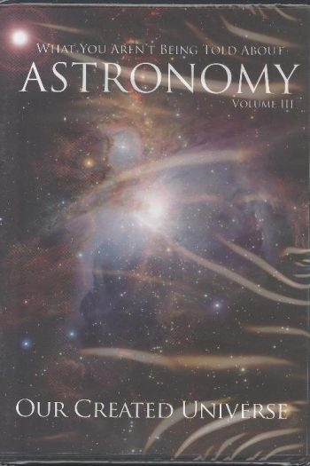 ASTRONOMY : OUR CREATED UNIVERSE