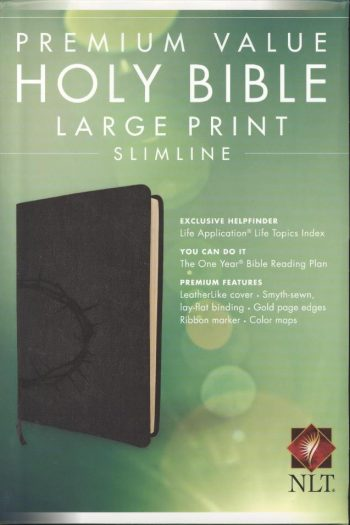 NLT BIBLE PREMIUM VALUE LGE PRINT