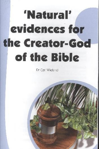 'NATURAL' EVIDENCES FOR THE CREATOR-GOD