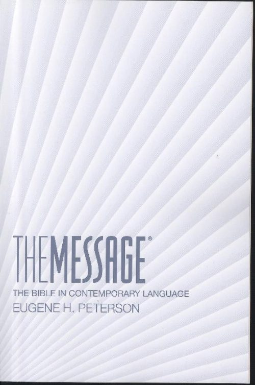 MESSAGE NUMBER PAPERBACK-0