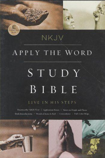 NKJV APPLY THE WORD STUDY BIBLE BURG