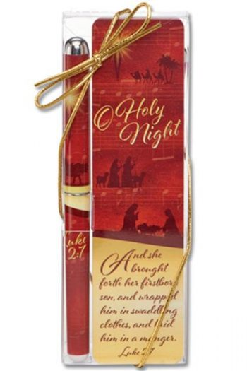PEN & BOOKMARK SET: O HOLY NIGHT