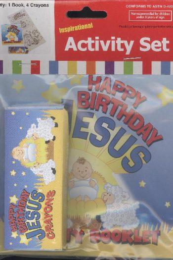 HAPPY BIRTHDAY JESUS ACTIVITY SET