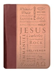 BIBLE COVER: DUO TONE NAMES OF JESUS